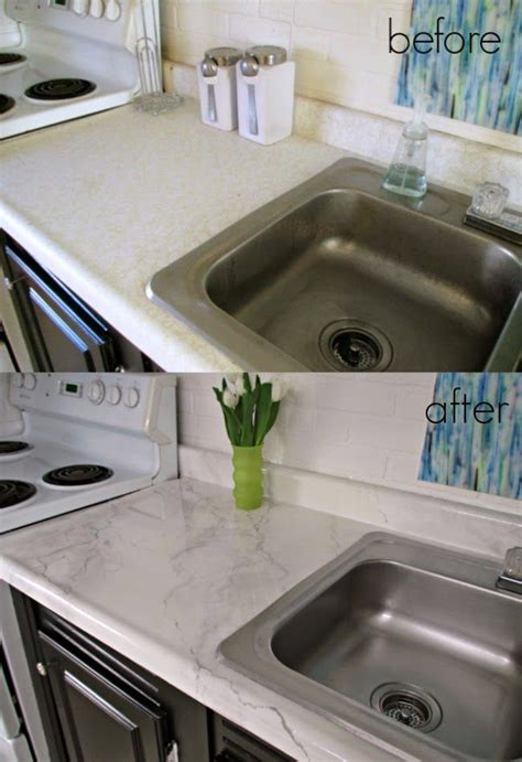 diy faux marble countertops     buying  kit home improvement