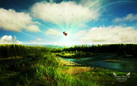 imagenes no realistas de paisajes fotos de paisajes hermosos