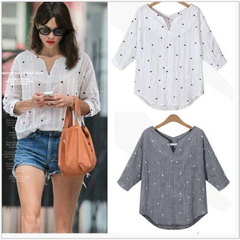 blusas de lino para mujer s31460a 2016 verano estilo blusas casual algod 243 n