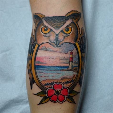 owl tattoo geo 47 best owl tattoos of all time tattooblend