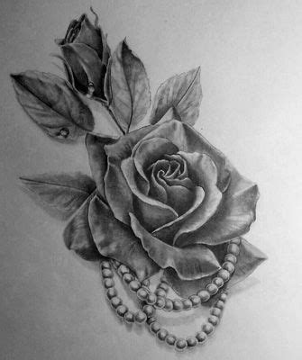 real rose tattoos and pearls search tattoos are great