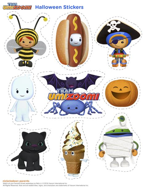 printable stickers for halloween free halloween printables