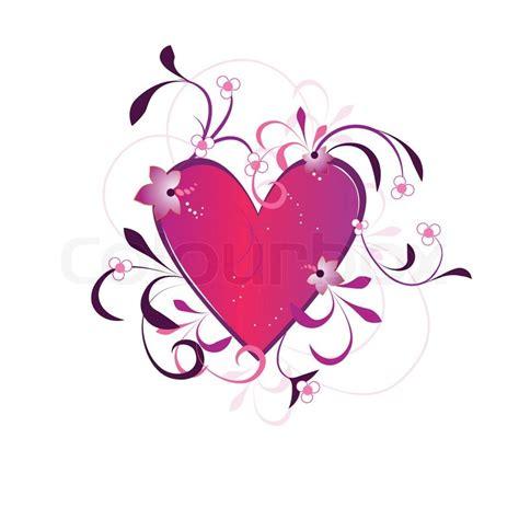 Give Your A Blume This V Day by Valentines Day Hintergrund Mit Herz Blumen Und Kreise