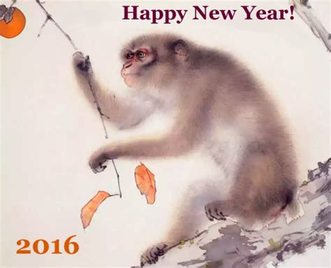 monkey new year wishes new year 2017 new year lucky color to
