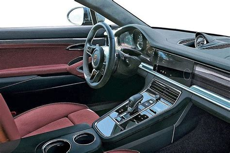 Porsche Panamera White Interior by New Porsche Panamera Interior Has A Much Cleaner Look