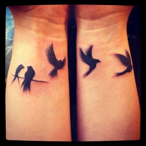 raven tattoo wrist tattoo art birds artwork on skin