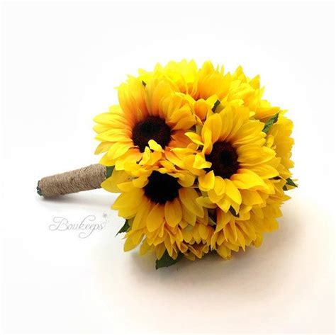 Wedding Bouquets Using Sunflowers by 17 Best Ideas About Sunflower Bouquets On