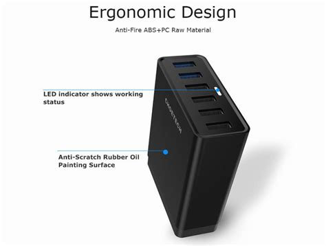 for qualcomm charge 3 0 multi usb charger 50w usb charging station for samsung s7 s6