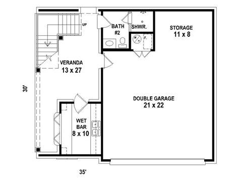 garage apartment plans carriage house plan  double