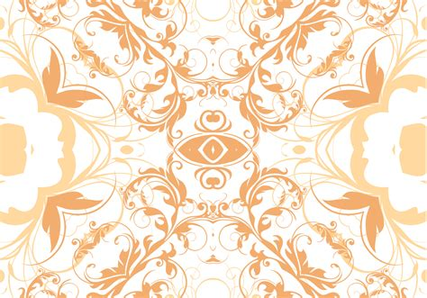 pattern seamless design tangerine floral seamless pattern vector download free