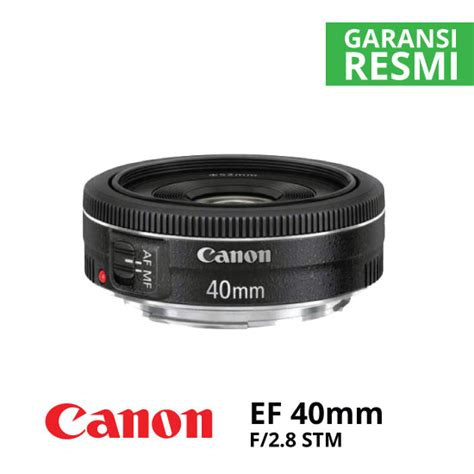 Canon Ef 50mm F 1 8 Stm Resmi canon ef 40mm f 2 8 stm harga dan spesifikasi
