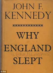 f kennedy book report signed copy of jfk book why slept meant as