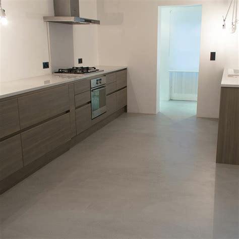 concrete kitchen floor microcement kitchen floor poured resin and concrete flooring