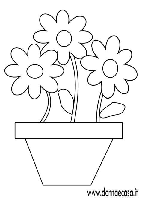 vaso con fiori da colorare bambini disegni da colorare spiaggia attrezzata