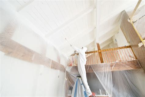 Kilz Stain Blocking Ceiling Paint by M Dorsey Designs How To Spray A Planked Ceiling
