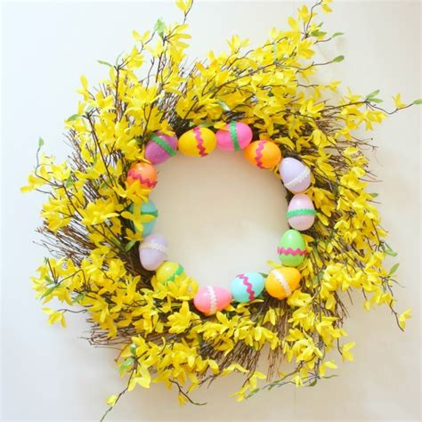 easter wreath ideas 50 spring and easter wreaths with fresh designs