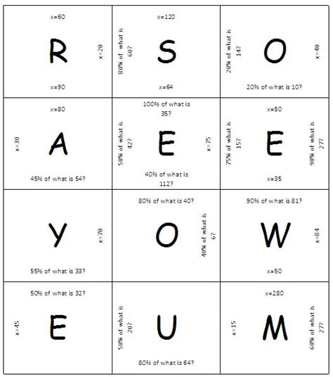 printable word games for grade 6 fun 6th grade math puzzle worksheets maths puzzles math
