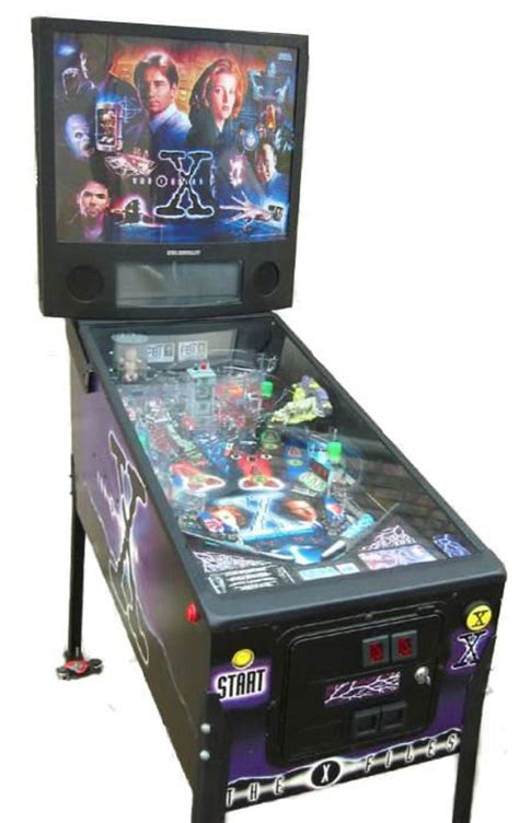 the x files pinball machine liberty