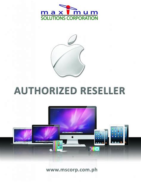 apple reseller maximum solutions corporation apple authorized reseller