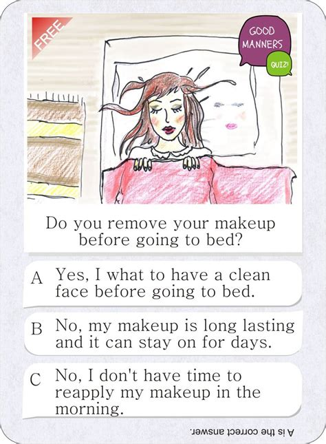 are you good in bed quiz pin by good manners quiz on free card game good manners