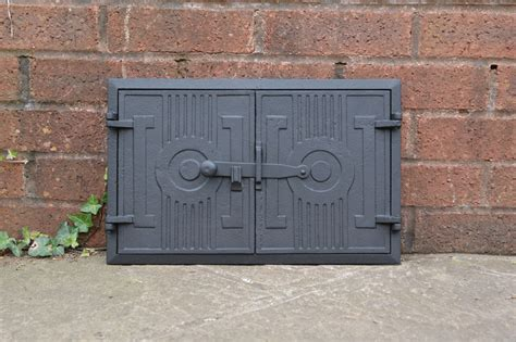 Cast Iron Fireplace Doors by 42 X 27 2 Cm Cast Iron Door Clay Bread Oven Doors
