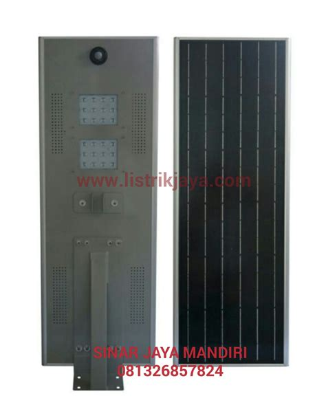 Lu Jalan Solar Cell jual lu jalan led 30 watt solar cell include baterai