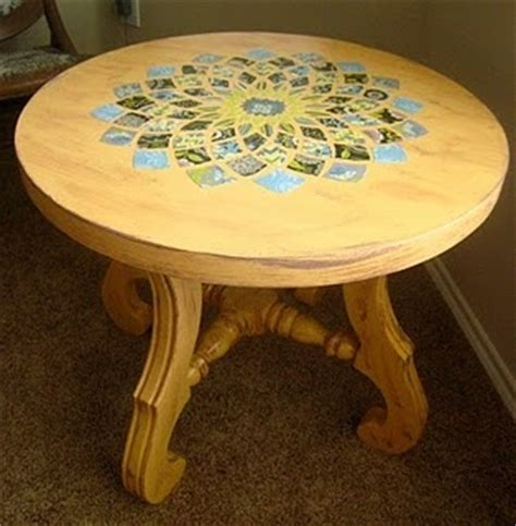 decoupage dining room table 36 best images about krafts korner decoupage on