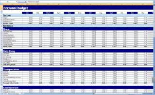 Free Excel Budget Template Monthly And Yearly Budget Spreadsheet Excel Template