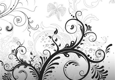 elegant pattern brush photoshop 5 free floral ornament brushes