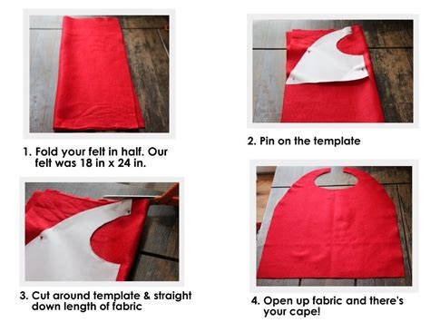 diy cape template no sew capes free template my granddaughter is