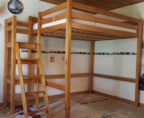 lit mezzanine 2 places lit mezzanine bois 2 places