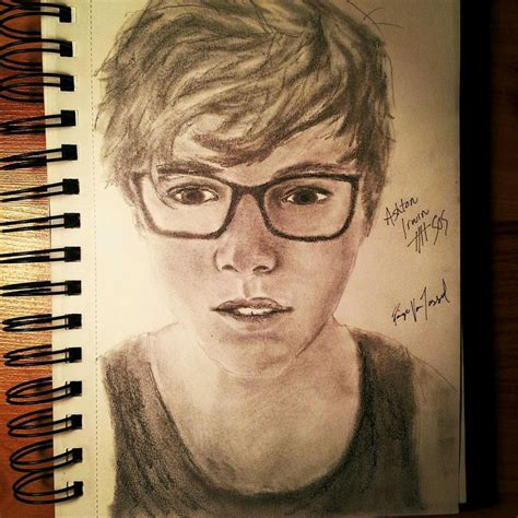 5 Second Sketches by Ashton Irwin Drawing So Gooooooodd 5 Seconds Of