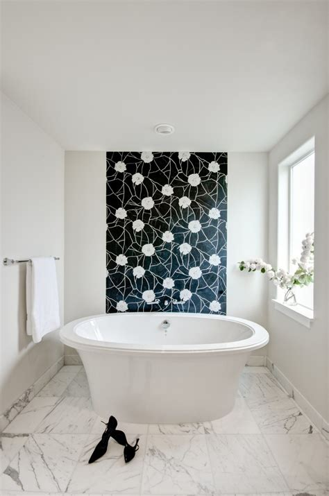 bathroom wall tile ideas http www rebeccacober net 7 reasons to give your bath zone a living room vibe