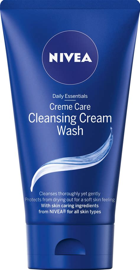 nivea face care creme care cleansing cream wash reviews
