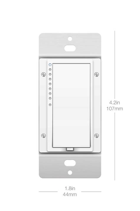 dimmable smart light switch insteon remote dimmer light switch smarthome