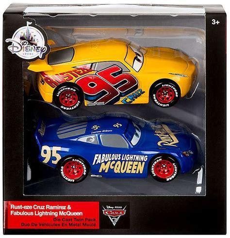 Diecast Disney Cars Mini Racer Mattel Metallic Lightning Mcqueen 28 disney cars cars 3 rust eze ramirez fabulous