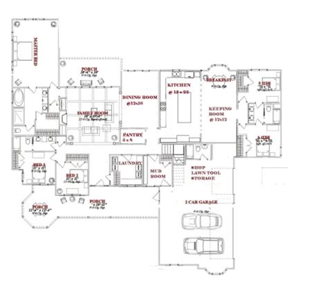 House Plans One Dining Area House Plans One Story House Plans With One Dining Area