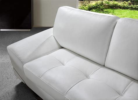 Modern White Leather Sofa Set White Modern Sofa Set Vg 74 Leather Sofas
