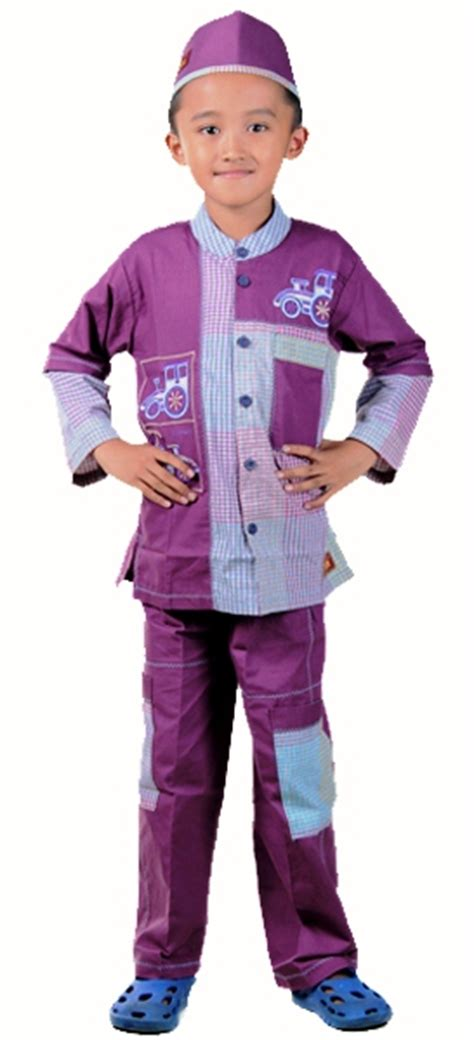 Baju Koko Anak 1 Tahun Bkkk59 Ungu detail baju koko anak ungu toko bunda