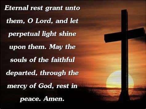 eternal rest grant    lord   perpetual li flickr