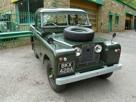 Bkx 428a 1961 Series Ii Returns From Munich Land Rover