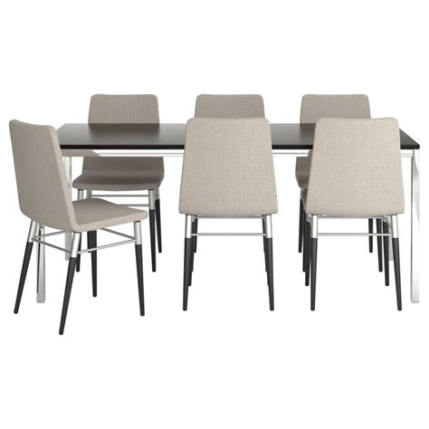 torsby preben table and 6 chairs ikea dining room
