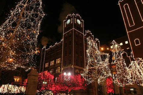The Top Holiday Light Displays In St Louis St Louis Anheuser Busch Brewery Lights