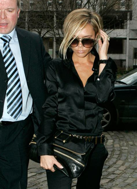 Beckham Carries Jimmy Choos Day Clutch by The Many Bags Of Beckham Purseblog