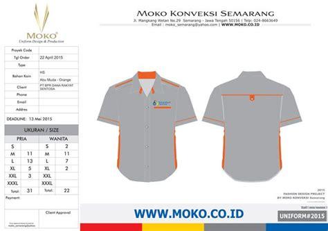 desain baju kaos warna abu abu 42 best konsep desain seragam kerja moko konveksi images