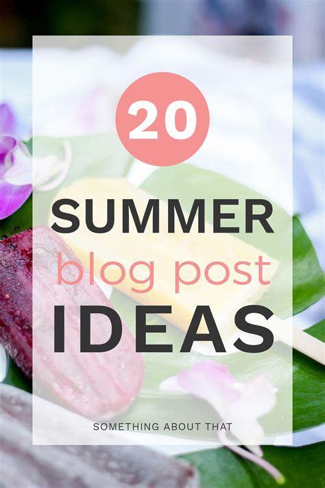 summer blog writing away with blog 20 summer blog post ideas from a canadian fashion and