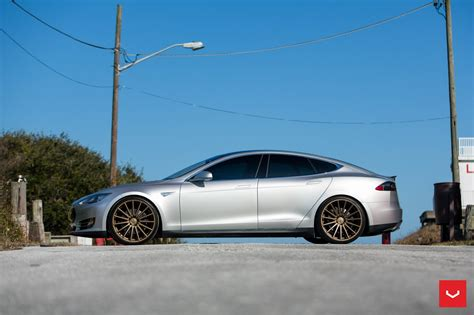 Vossen Tesla Vossen Vfs 2 Alloys Up Tesla Model S