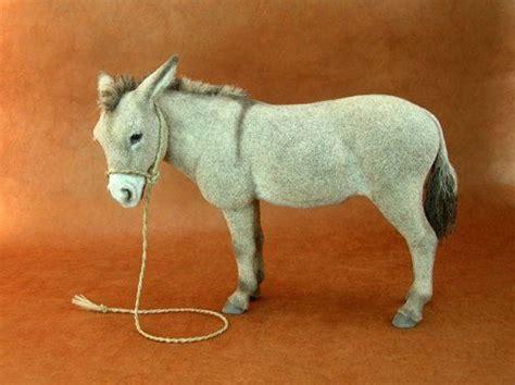 pattern for felt donkey needle felted donkey donkeys pinterest dollhouse