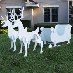 Deer Christmas Decorations » Home Design 2017