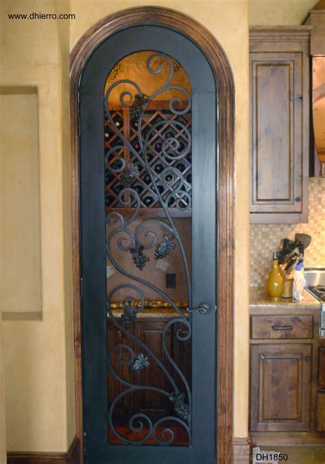 wine cellar doors dhierro iron doors plano tx